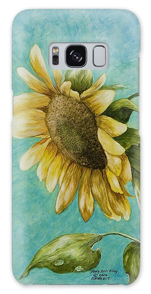 Sunflower Number One Galaxy Case