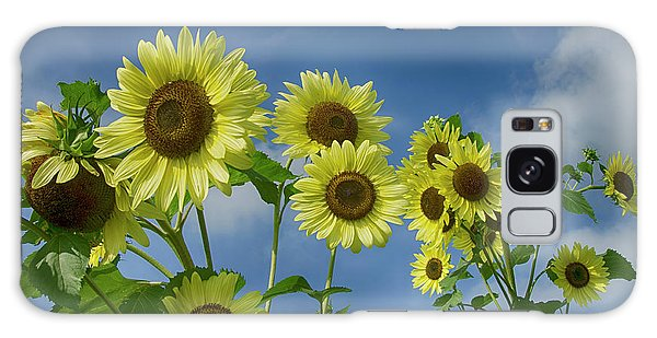 Sunflower Party Galaxy Case