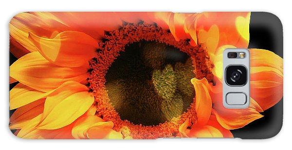 Sunflower Passion Galaxy Case