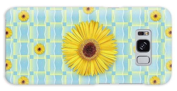 Sunflower Pattern Galaxy Case