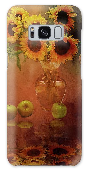 Sunflower Reflections Galaxy Case