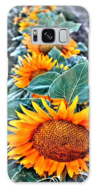 Sunflower Row Galaxy Case