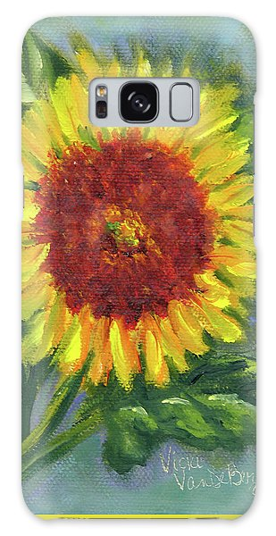 Sunflower Seed Packet Galaxy Case