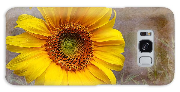 Sunflower Serenade Galaxy Case