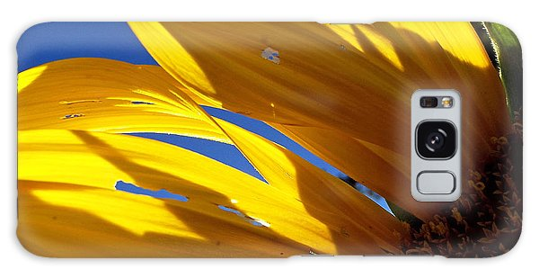 Sunflower Shadows Galaxy Case