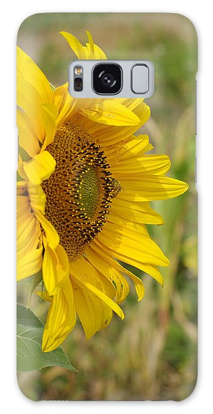 Sunflower Show Off Galaxy Case