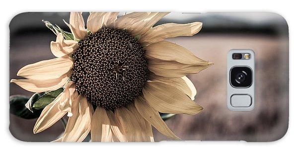 Sunflower Solitude Galaxy Case