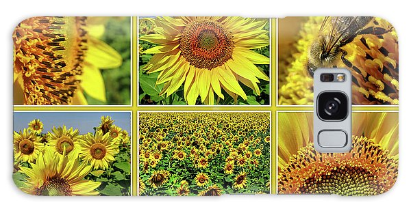 Sunflower Story - Collage Galaxy Case