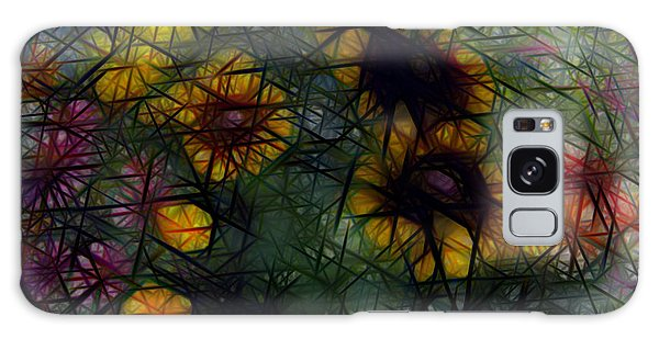 Sunflower Streaks Galaxy Case