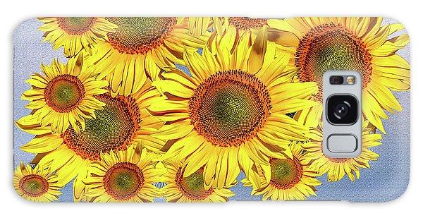 Sunflower Tree Galaxy Case