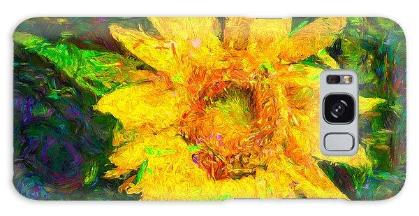 Sunflower Van Gogh Galaxy Case