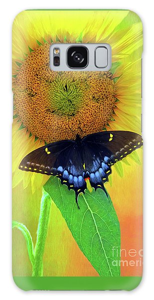 Sunflower With Company Galaxy Case