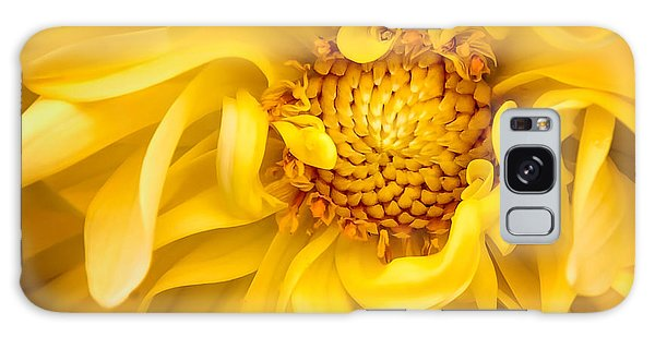 Sunflower Yellow Galaxy Case