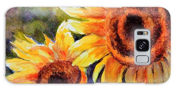 Sunflowers 2 Galaxy Case