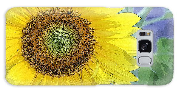 Sunflowers All Around Galaxy Case