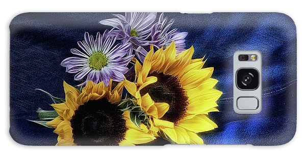 Helianthus Annuus Galaxy Case - Sunflowers And Daisies by Tom Mc Nemar