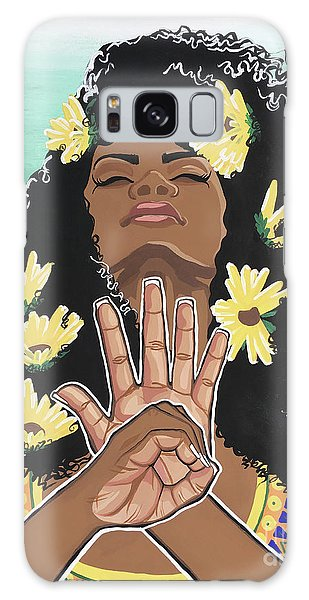 Sunflowers And Dashiki Galaxy S8 Case