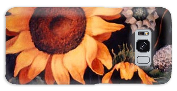 Sunflowers And More Sunflowers Galaxy Case