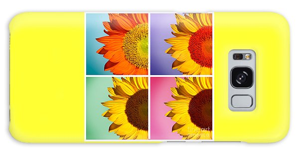 Sunflowers Collage Galaxy Case
