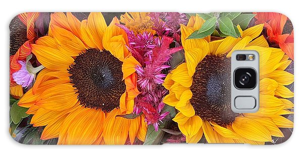 Sunflowers Eyes Galaxy Case