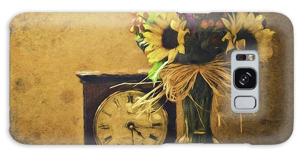 Sunflowers Floral Still Life 3 Galaxy Case