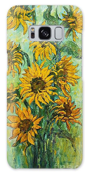 Sunflowers For This Summer Galaxy Case