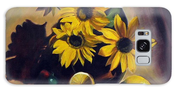 Sunflowers Galaxy Case
