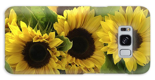 Sunflowers Galaxy Case by Henri Irizarri