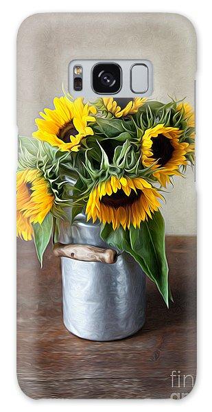 Floral Galaxy Case - Sunflowers by Nailia Schwarz