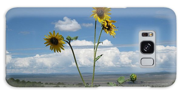 Sunflowers On The Gorge Galaxy Case