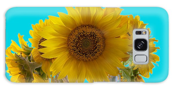 Galaxy Case - Sunflowers Replacing The Sun by Iordanis Pallikaras