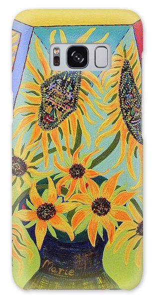 Sunflowers Rhapsody Galaxy Case