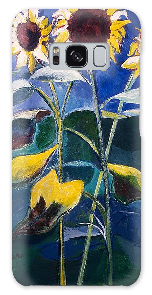 Sunflowers Standing Tall Galaxy Case
