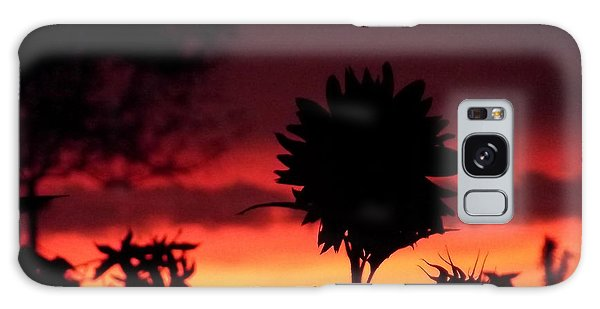 Sunflower's Sunset Galaxy Case