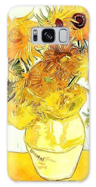 Sunflowers Van Gogh Galaxy Case