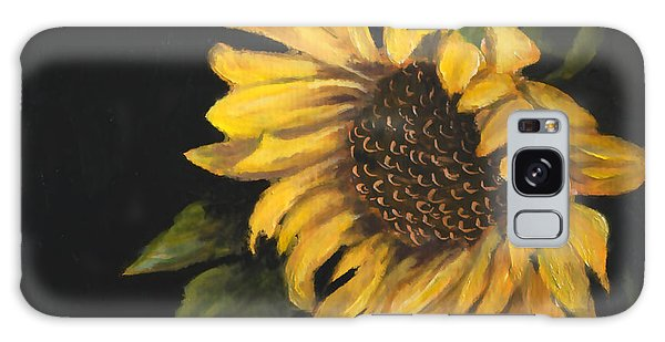 Sunflowervi Galaxy Case by Sandra Nardone