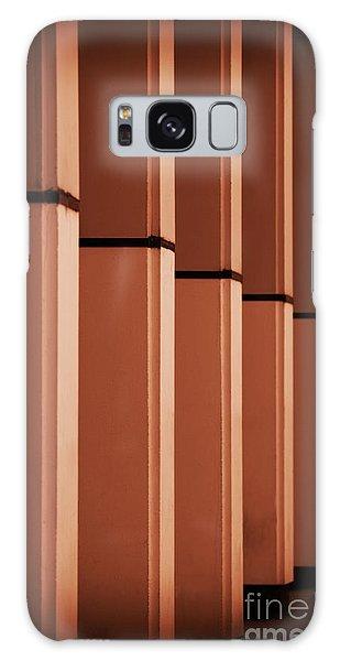 Sunkissed Pillars Galaxy Case by Stephen Melia