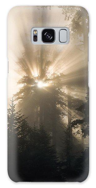 Sunlight And Fog Galaxy Case
