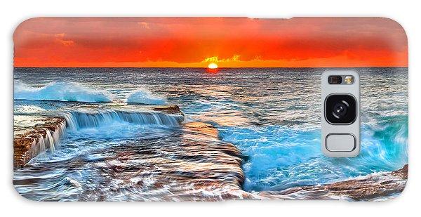 Bright Sun Galaxy Case - Sunlight Delight by Az Jackson