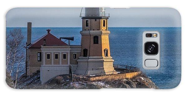 Sunlight On Split Rock Lighthouse Galaxy Case