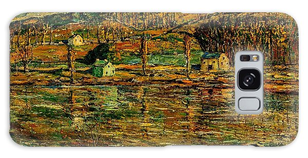 Apollo Theater Galaxy S8 Case - Sunlight On The Harlem River 1919 by Peter Ogden
