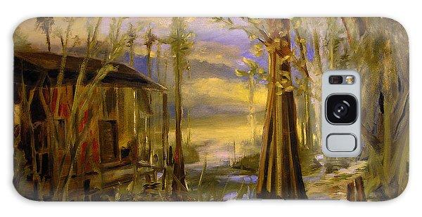Sunlight On The Swamp Galaxy Case