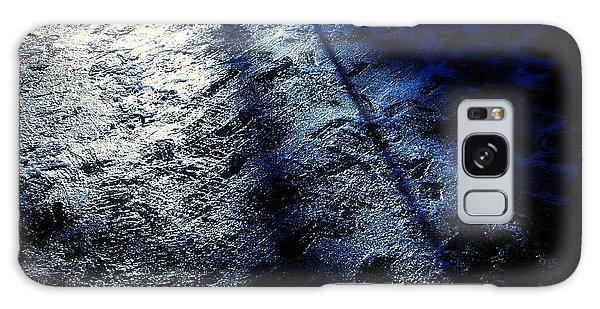 Sunlight Shadows On Ice - Abstract Galaxy Case