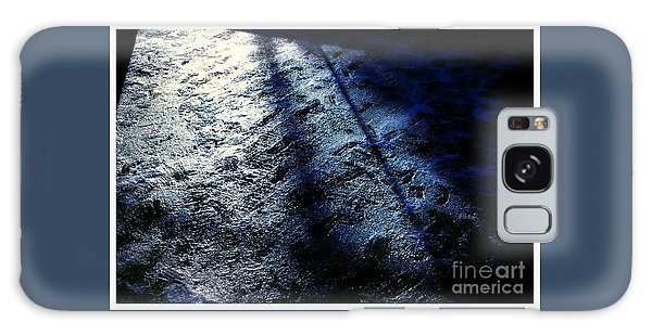 Sunlight Shadows On Ice - Abstract Galaxy Case