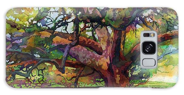 Sunlit Century Tree Galaxy Case