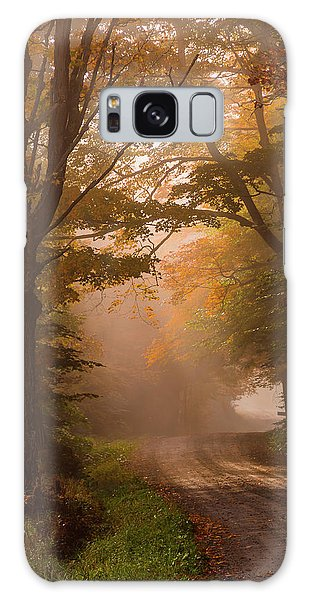 Serenity Of Fall Galaxy Case