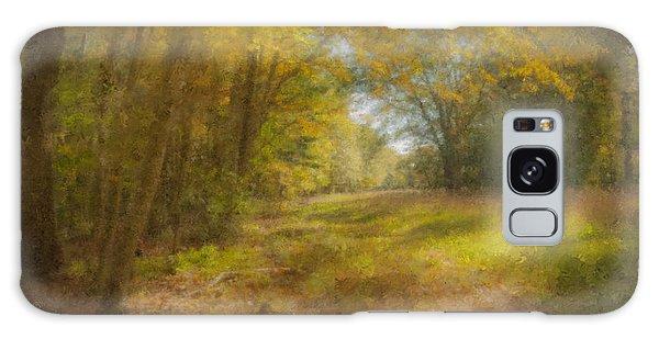 Sunlit Meadow In Borderland Galaxy Case