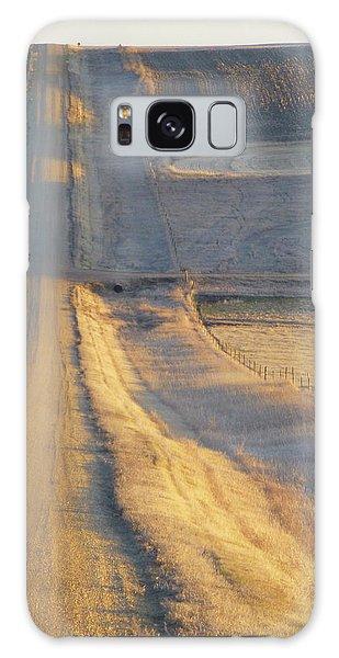 Sunlit Road Galaxy Case