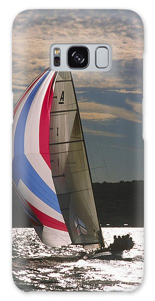 Sunlit Sails - Lake Geneva Wisconsin Galaxy Case