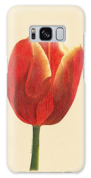 Sunlit Tulip Galaxy Case